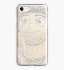 Barry Benson made using the Bee Movie Script iPhone Case/Skin