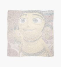 Barry Benson made using the Bee Movie Script Scarf