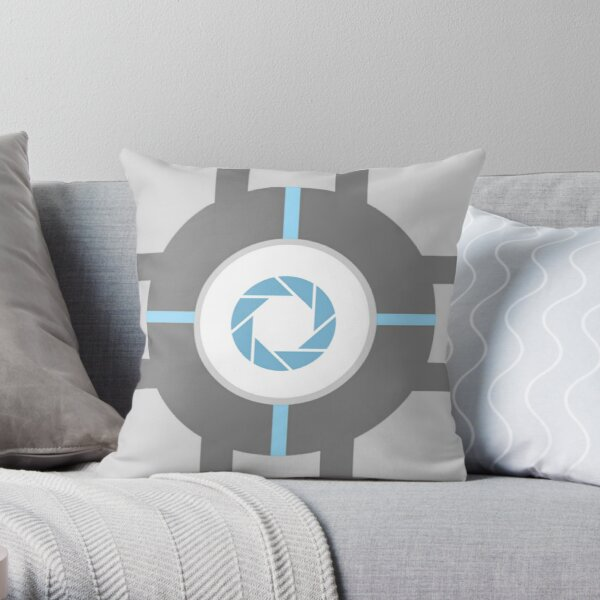 Aperture Cube Throw Pillow