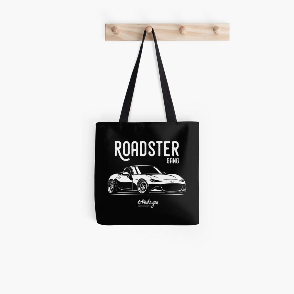 Roadster gang. MX5 Miata (ND) Tote Bag