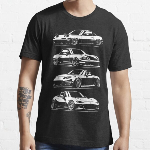 Generations. MX5 Miata Essential T-Shirt