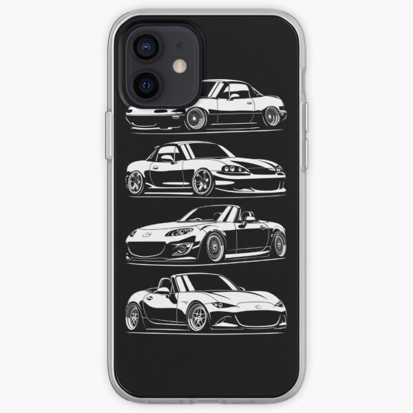 Générations MX5 Miata Coque souple iPhone
