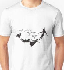 Never Grow Up - Peter Pan T-Shirt