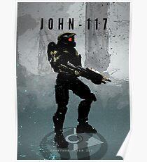 Legends of Gaming - John 117 Poster
