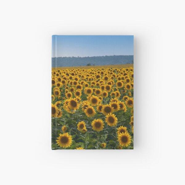 Sunflowers Hardcover Journal