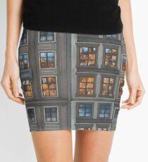 Mosaic of City Mini Skirt