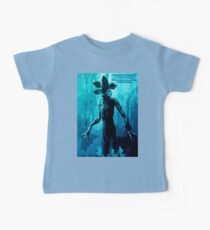 Stranger Things Poster  (blue Nightmare) Baby Tee