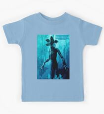 Stranger Things Poster  (blue Nightmare) Kids Clothes
