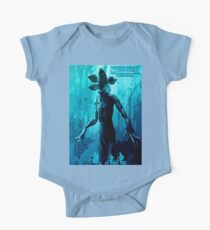 Stranger Things Poster  (blue Nightmare) One Piece - Short Sleeve