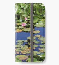 Lilies and Lily Pads iPhone Wallet/Case/Skin