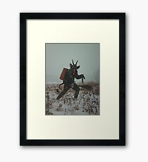 Krampus Framed Print