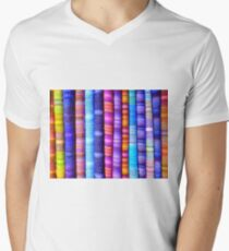 Textured Textiles Men's V-Neck T-Shirt