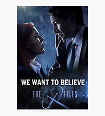 The X-files Poster s11 Photographic Print