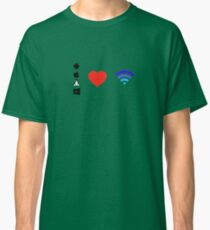 OS Love Wifi color Classic T-Shirt