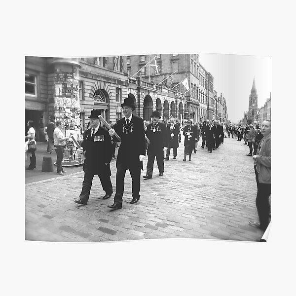 Procession, Edinburgh Poster