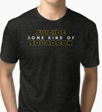 Some Kind of Suicide Squadron Tri-blend T-Shirt