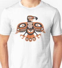 Bird - totem pole style Slim Fit T-Shirt