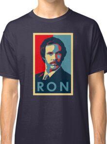 Ron Burgundy (Obama Style) Classic T-Shirt