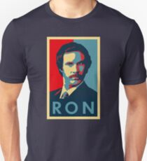 Ron Burgundy (Obama Style) Unisex T-Shirt