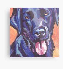 Labrador Retriever Dog Bright colorful pop dog art Metal Print