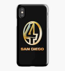 Channel 4 San Diego (Gold) iPhone Case