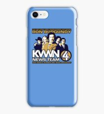 News Team 4 iPhone Case/Skin