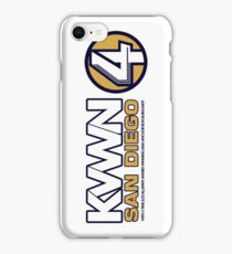 KVWN San Diego (Outlined) iPhone Case/Skin