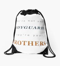 They're your Brothers Drawstring Bag