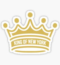 Newsies King of New York Crown Sticker