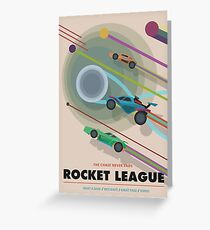 Rocket League Poster Greeting Card