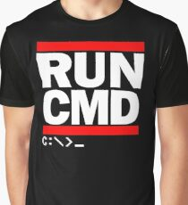RUN CMD C:\>_ Graphic T-Shirt
