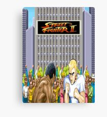 Street Fighter 2 Canvas Print