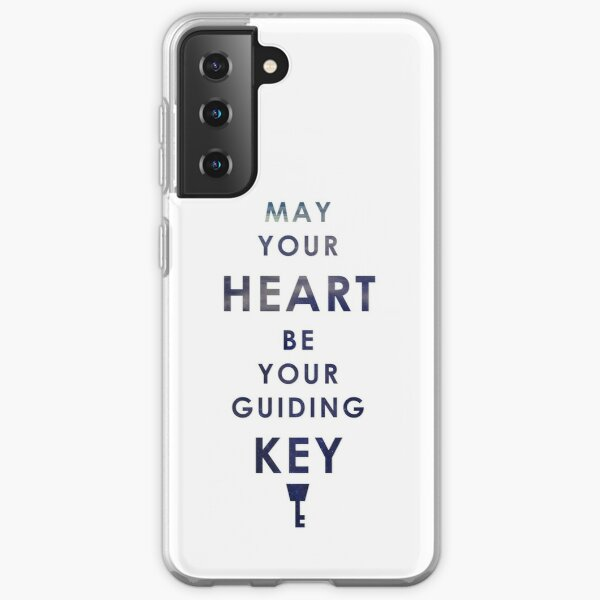 May your Heart be your guiding Key Samsung Galaxy Soft Case