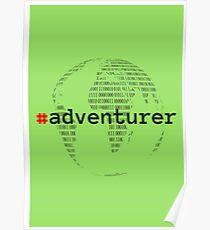 #adventurer Poster