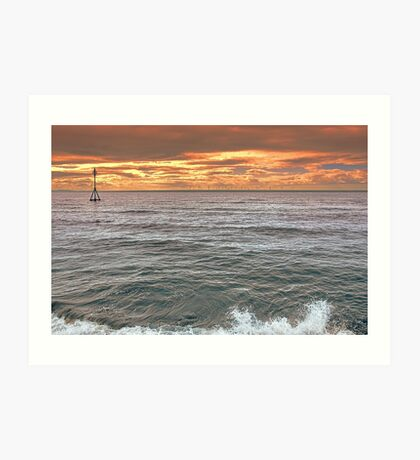 Late Evening Tide Art Print