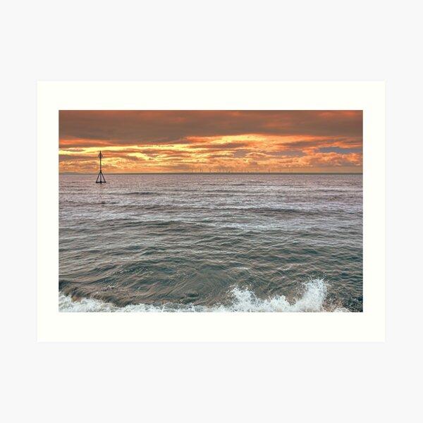 Late Evening Tide Art Print