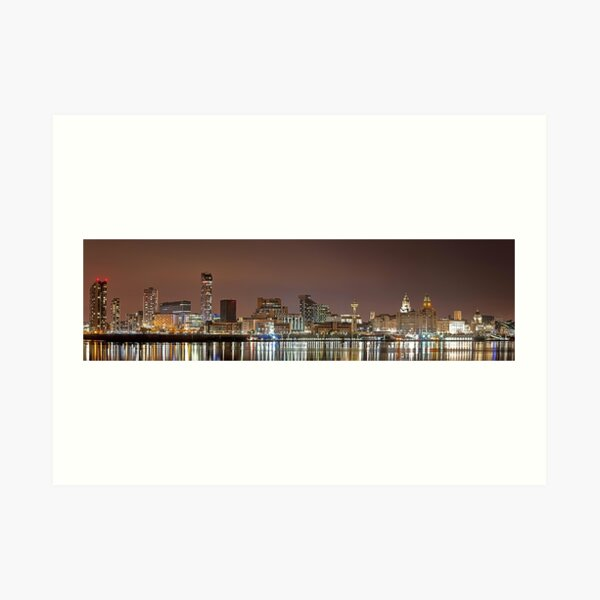 Liverpool Waterfront Art Print