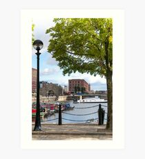 Salthouse Dock Liverpool Art Print