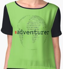 #adventurer Chiffon Top