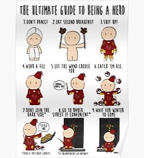 The Ultimate Guide To Being A Nerd Poster
