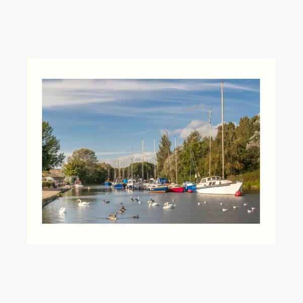 The Boatyard Art Print