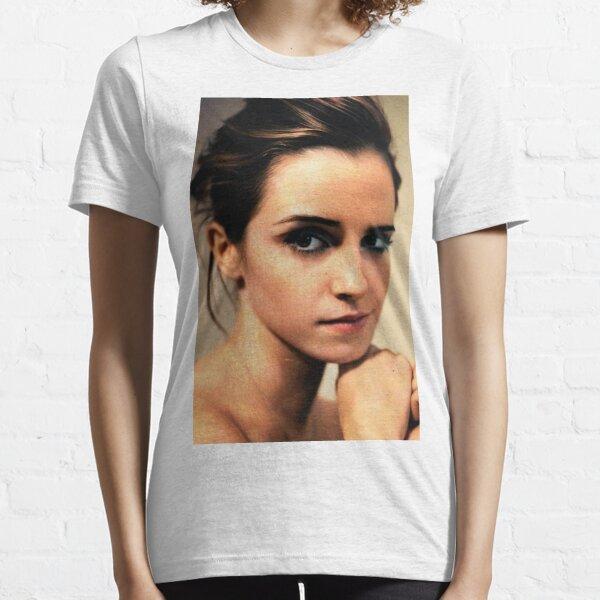 Emma Watson Camiseta esencial