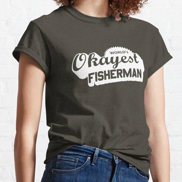 World's Okayest Fisherman Classic T-Shirt
