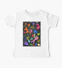 oil pastel pattern Kids Clothes