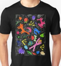 oil pastel pattern T-Shirt