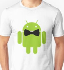 Formal Atire Android Robot Unisex T-Shirt