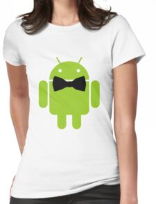 Formal Atire Android Robot Womens Fitted T-Shirt