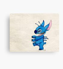 Stitch Canvas Print