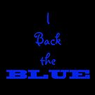 I back the BLUE by Doty