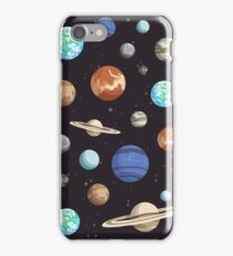 Retro Planet Design iPhone Case/Skin